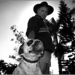 Littlejohn Kovacich & his dog