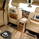 Interior of Rolls-Royce Phantom EWB