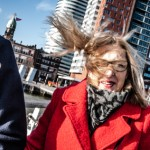 A windy day in Rotterdam